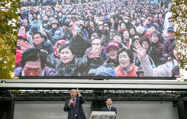 Pastor coreano lidera un auge conservador