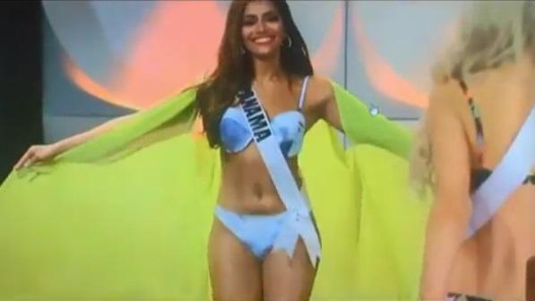 Entre adeptos y detractores Señorita Panamá participa en la preliminar del Miss Universo