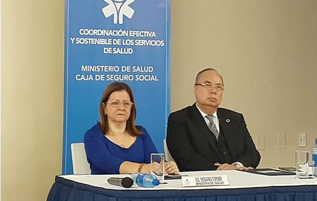 Rosario Turner y Enrique Lau Cortés. Foto/ Víctor Arosemena