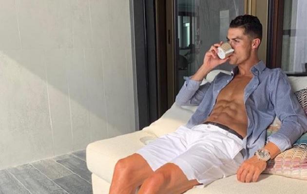 Cristiano Ronaldo recuerda la última vez que se emborrachó