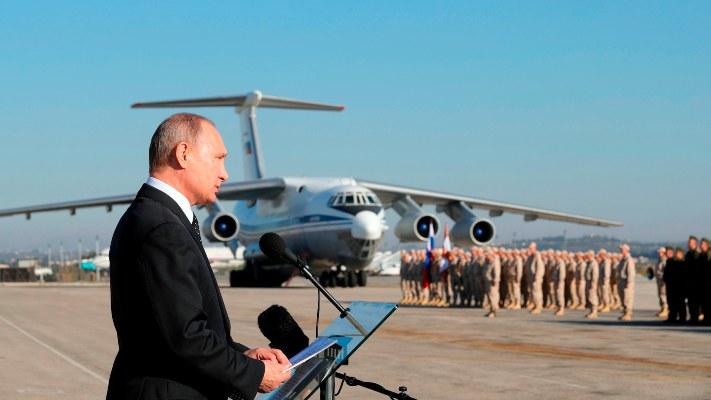 El líder ruso también envió sus mejores deseos para 2020 a los mandatarios de EE.UU, Canadá, Alemania, Francia, España, Reino Unido, Italia, China, así como al papa Francisco, FOTO/AP
