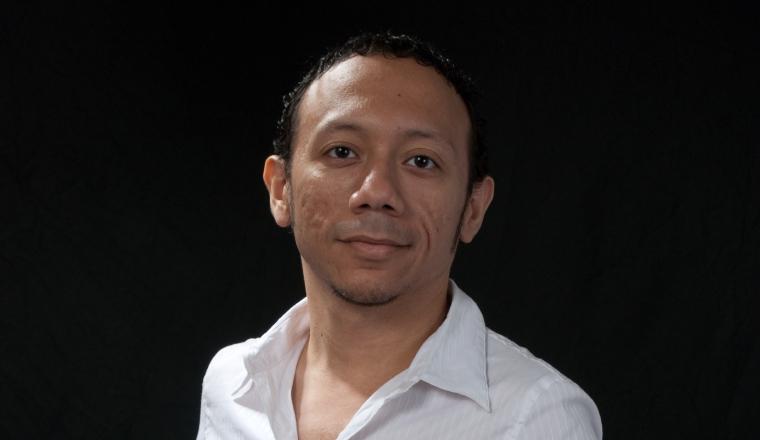 Abdiel Tapia, actor, productor, director, sonidista... Archivo Panamá América