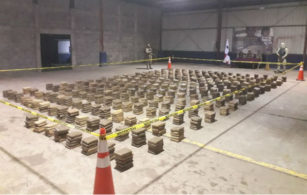 Decomisan más de una tonelada de droga en el provincia de Veraguas