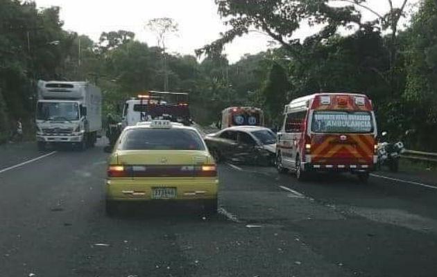Muere niña en accidente de tránsito en Loma de Limón, provincia de Colón