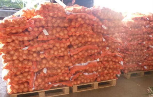 Piden a Aduanas que investigue importación de cebolla