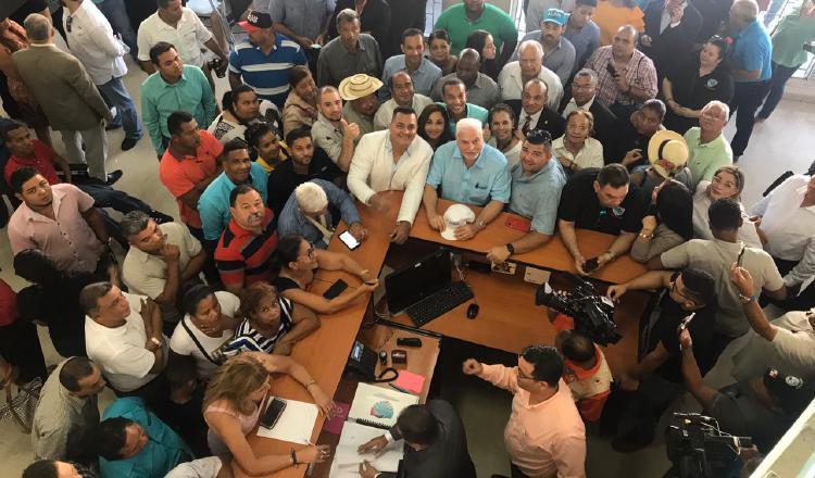Ricardo Martinelli demuestra su fuerza  en Cambio Democrático para convocar a convención