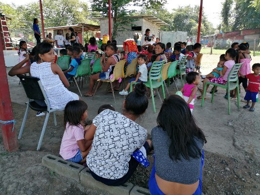 Protegen a menores  contra  el pandillerismo en el sector de Varacruz