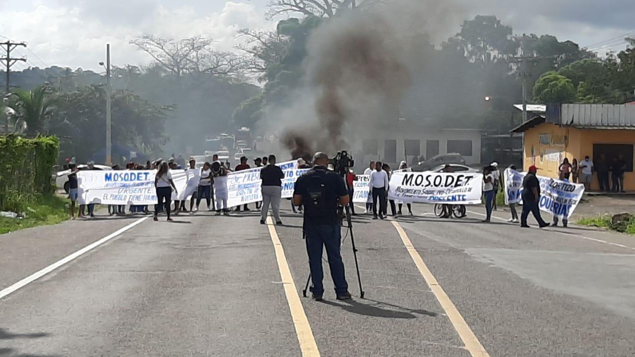 Cierre de calles en Colón dejan pérdidas por $50 millones