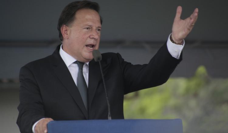 Crispiano Adames insta a denunciar  'patrañas' del gobierno de Juan Carlos  Varela