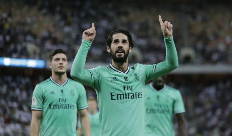 Real Madrid a la final de la Supercopa; espera por Barça o Atlético