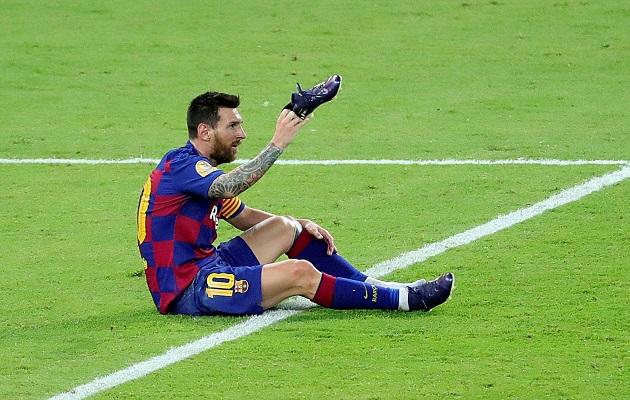 Messi: 'Es un duro golpe para Barcelona'