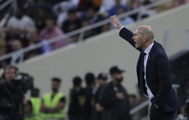 Zinedine Zidane  y su giro táctico en el Real Madrid