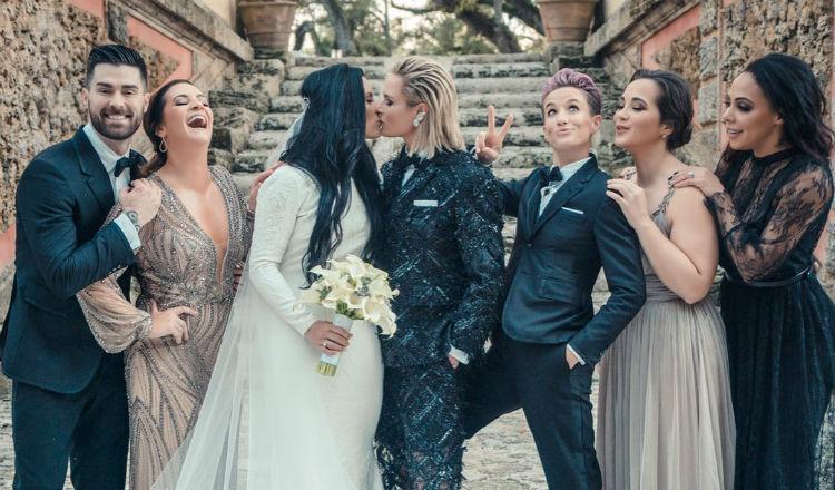 Defensa y portera de la selección femenina de Estados Unidos se casan