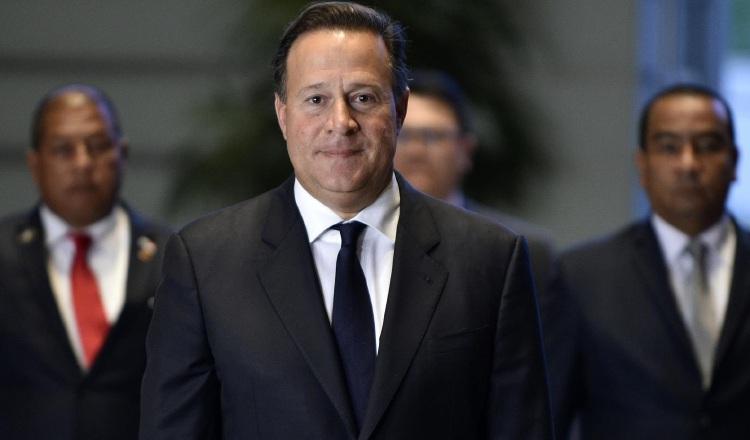 Jueza cita al expresidente Juan Carlos Varela por denuncia laboral