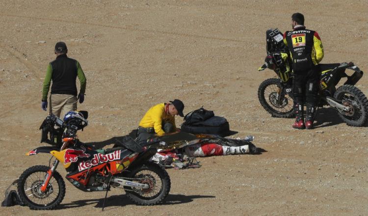 Motociclista portugués muere en un accidente en el Rally de Dakar