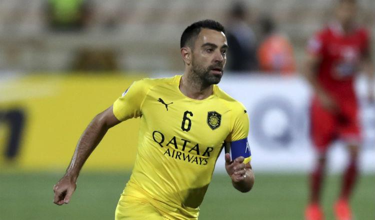 Xavi Hernández comprometido con su equipo en Qatar no piensa en el Barcelona