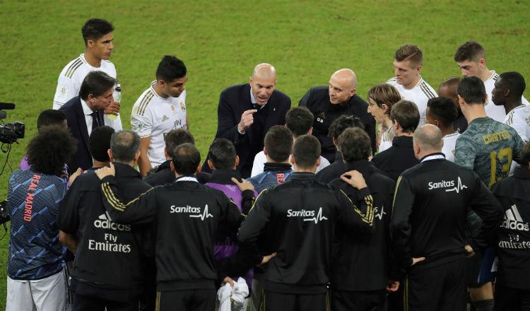Zinedine Zidane, experto en finales con el Real Madrid