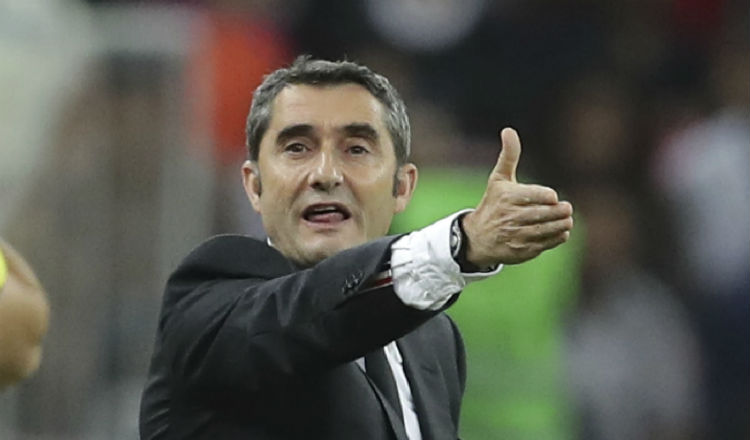 Continuidad de Ernesto Valverde depende de la directiva del Barcelona