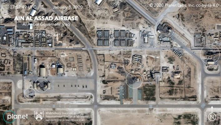 Cohetes impactan en base militar  iraquí con presencia de tropas de EE.UU.