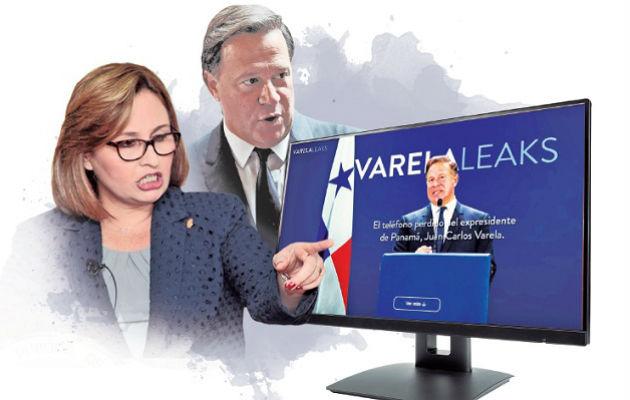 Denuncian a la exprocuradora Kenia Porcell y al expresidente Juan Carlos Varela