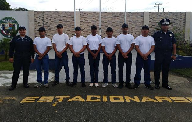 Cursarán estudios técnicos en administración policial. Foto: Cortesía.