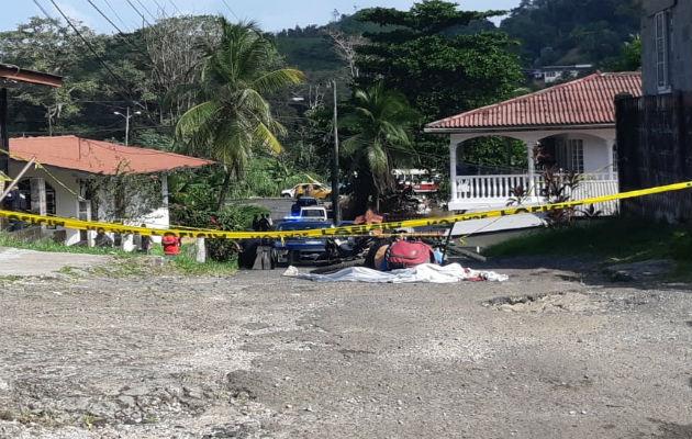 Asesinan a hombre en bicicleta en Villa Guadalupe, corregimiento de Cativá