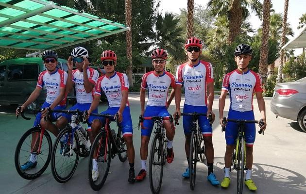 ¡Entrenamiento en el paraíso! Selección panameña de ciclismo se alista para la Vuelta a San Juan