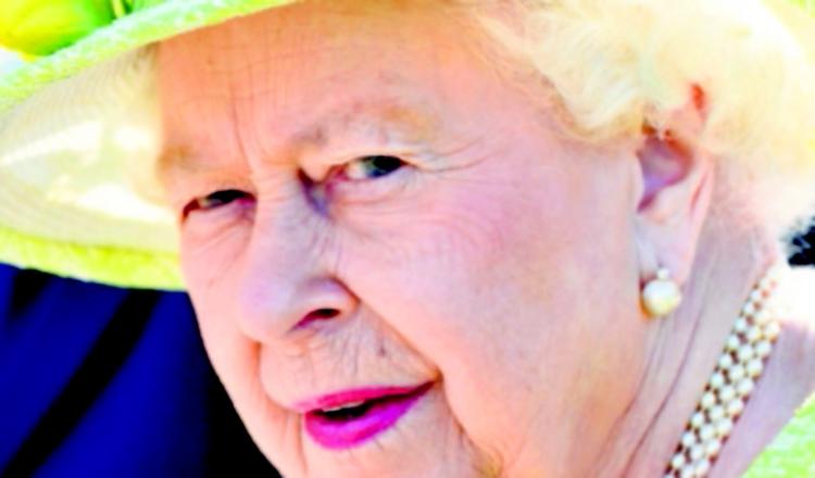 A la reina Isabel no le preocupan las  calorías que consume