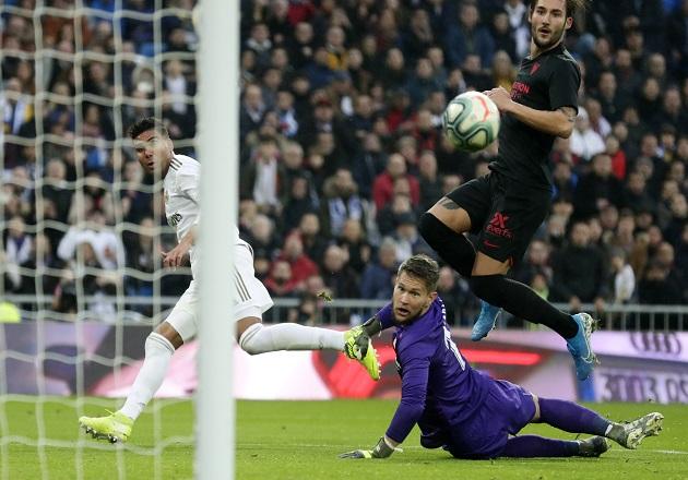 Casemiro con un doblete en triunfo del Real Madrid
