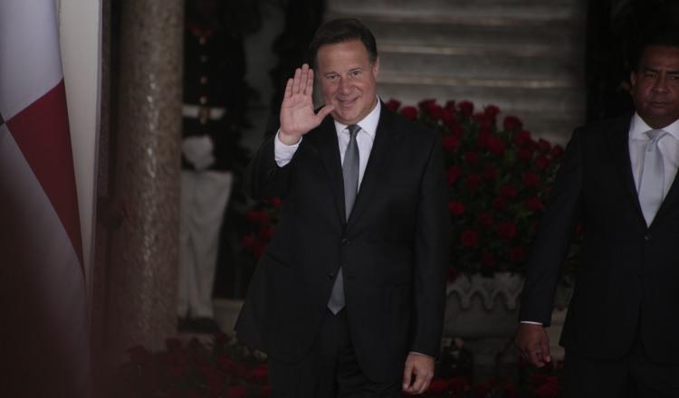 Exmandatario Juan Carlos  Varela deberá comparecer hoy al Juzgado