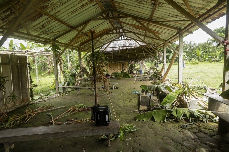 Los 15 indígenas rescatados iban a ser víctimas de la secta 'La Nueva Luz de Dios'. Foto: AP.