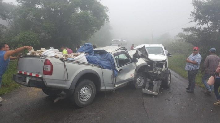 Dos heridos deja accidente de tránsito en la cordillera entre Chiriquí y Bocas