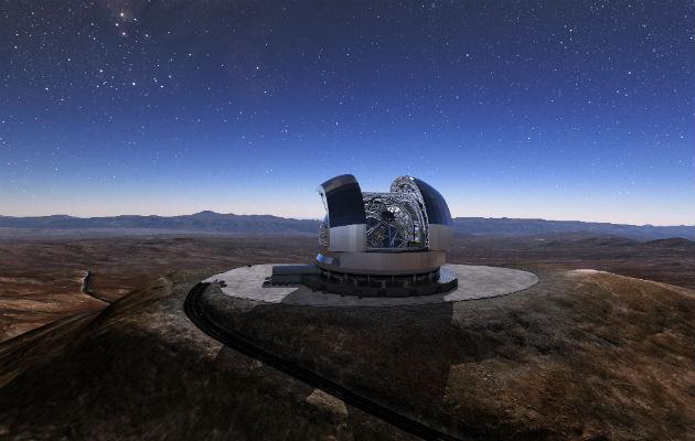 Europa toma ventaja en la creación de nuevos telescopios