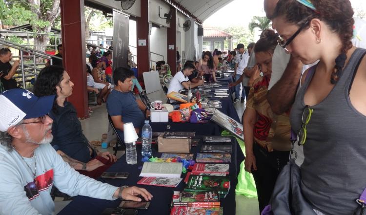 Diversión, libros y artes en el Parque Omar