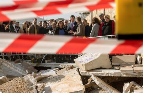 Once muertos y cinco desaparecidos por un fuerte temporal en España