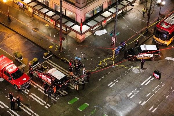 Tiroteo en Seattle deja un muerto y cerca de siete heridos