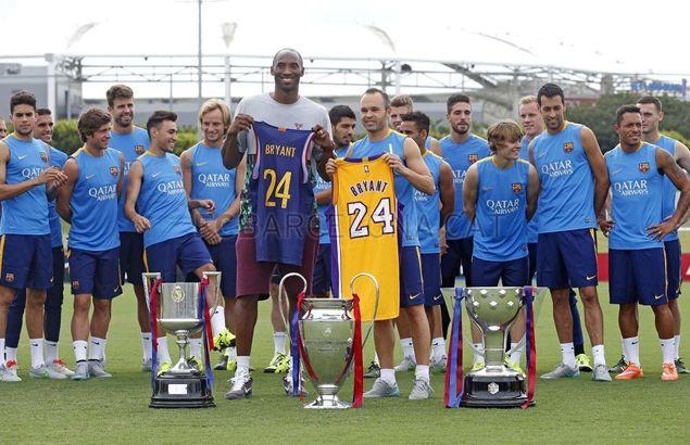 Barcelona y Real Madrid lamentan  el fallecimiento de Kobe Bryant