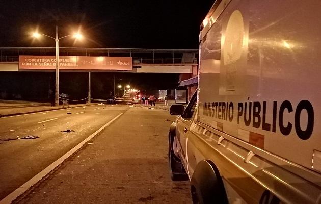 Dos adultos mayores mueren al ser arrollados por camioneta en Chame