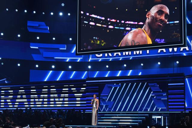 'Te queremos Kobe': El emotivo tributo a Kobe Bryant en los Grammy 2020