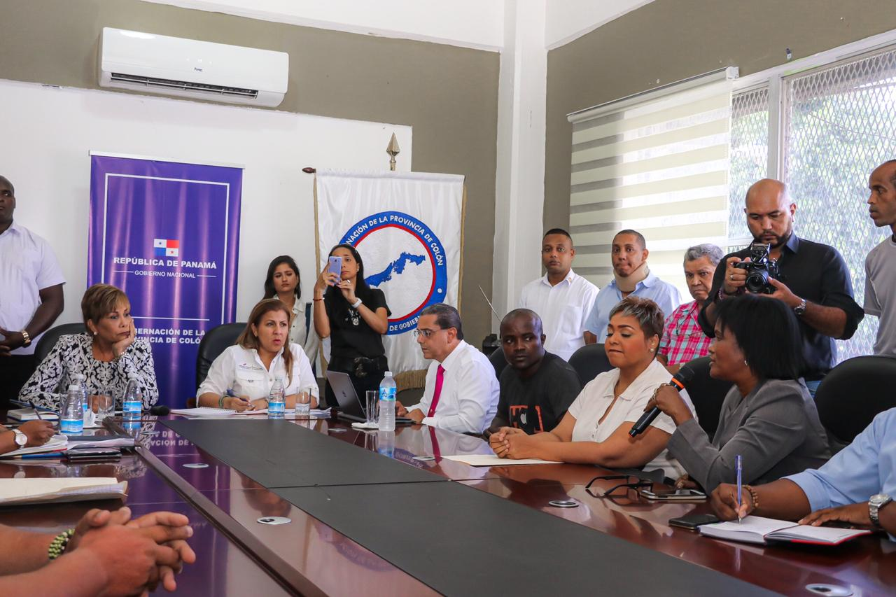 Miviot y microempresarios de Colón crearán mesa de depuración para pagar indemnizaciones
