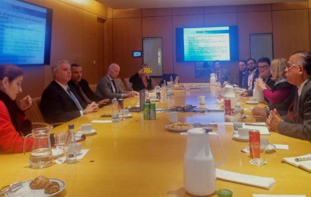 Autoridades del Mida y de Israel abordan temas en beneficio del sector agropecuario