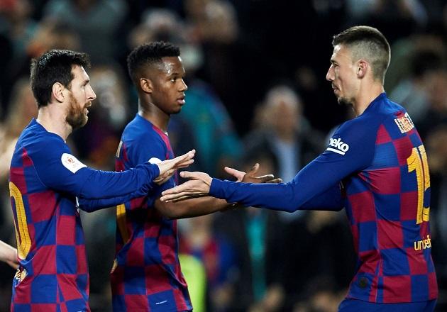 Barcelona golea y va por buen camino a jucio de  Griezmann