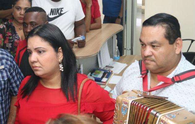 Artistas protestan a las afueras de la ATP por contrataciones del Carnaval