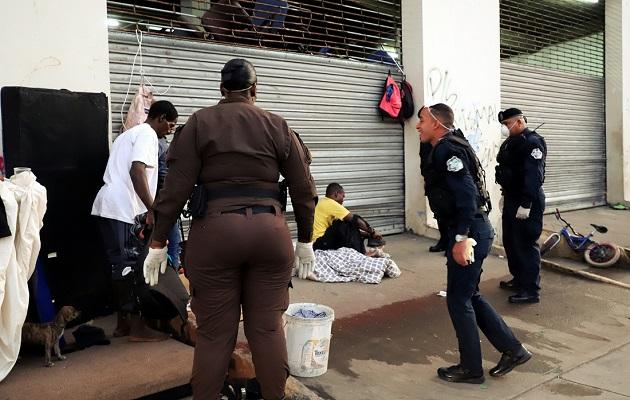 Alcaldía de Panamá ha capturado a varios delincuentes que se ocultaban como indigentes