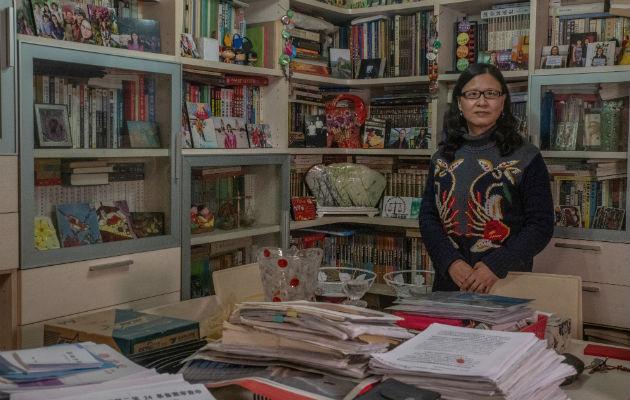 Una periodista lucha por chinas divorciadas