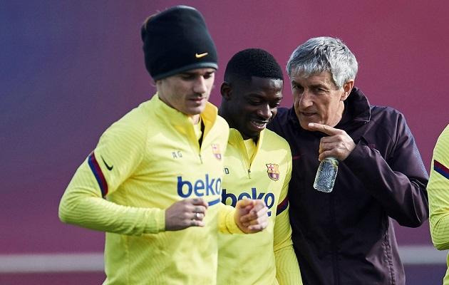 Falta de fichajes en la delantera han debilitado al Barcelona, reconoce Setién