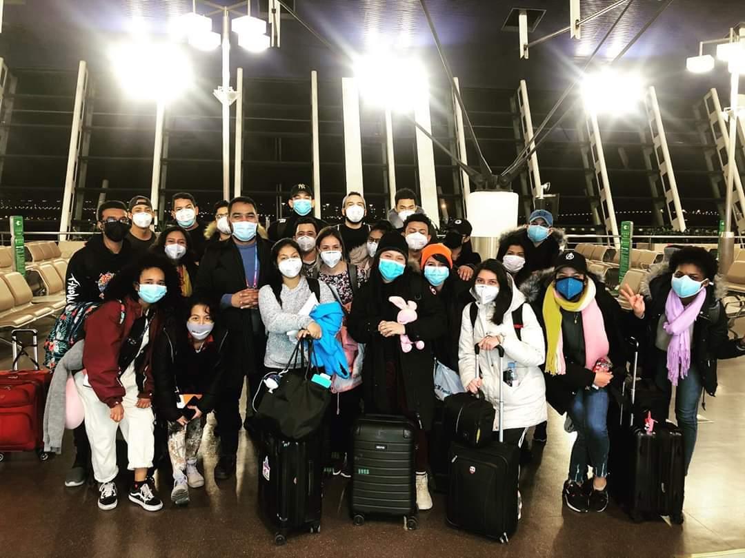 Panameños retornan de China tras brote de coronavirus