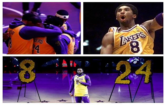 Discurso de LeBron  por la muerte de Kobe Bryant hizo llorar a todos