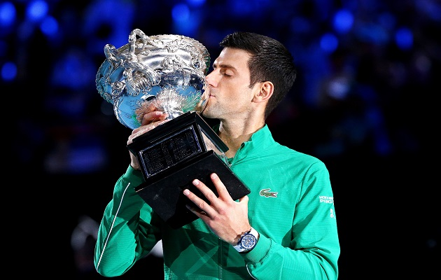 Novak Djokovic gana por octava vez  el Abierto de Australia