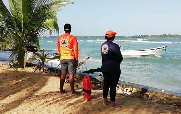 Sinaproc advierte sobre mar picado y fuertes vientos para la costa caribeña